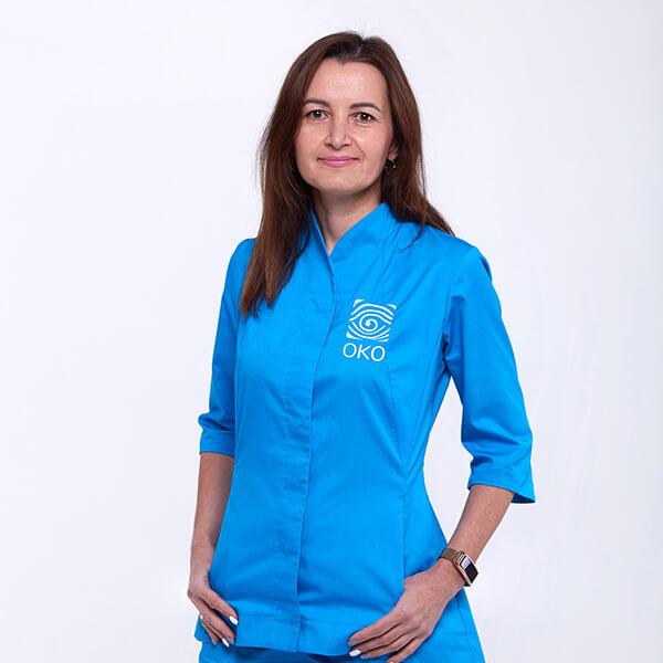 Администратор клиники око Ганжа Светлана Борисовна