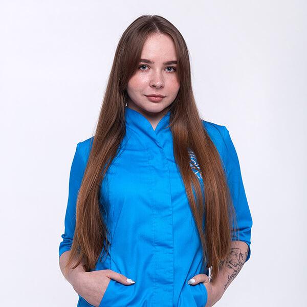 Администратор клиники око Клубенко Александра Сергеевна