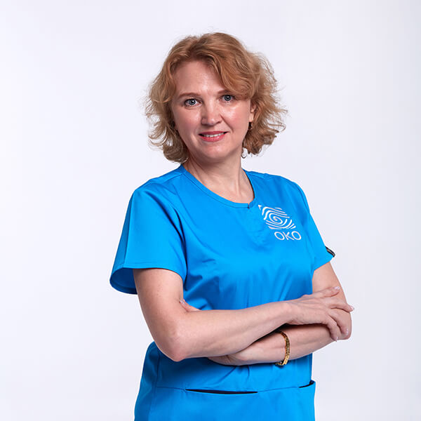 Администратор клиники око Пронюк Ирина Николаевна