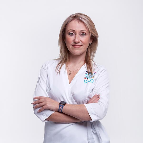 Доктор офтальмолог Доля-Попсуйшапка Юлия Глебовна