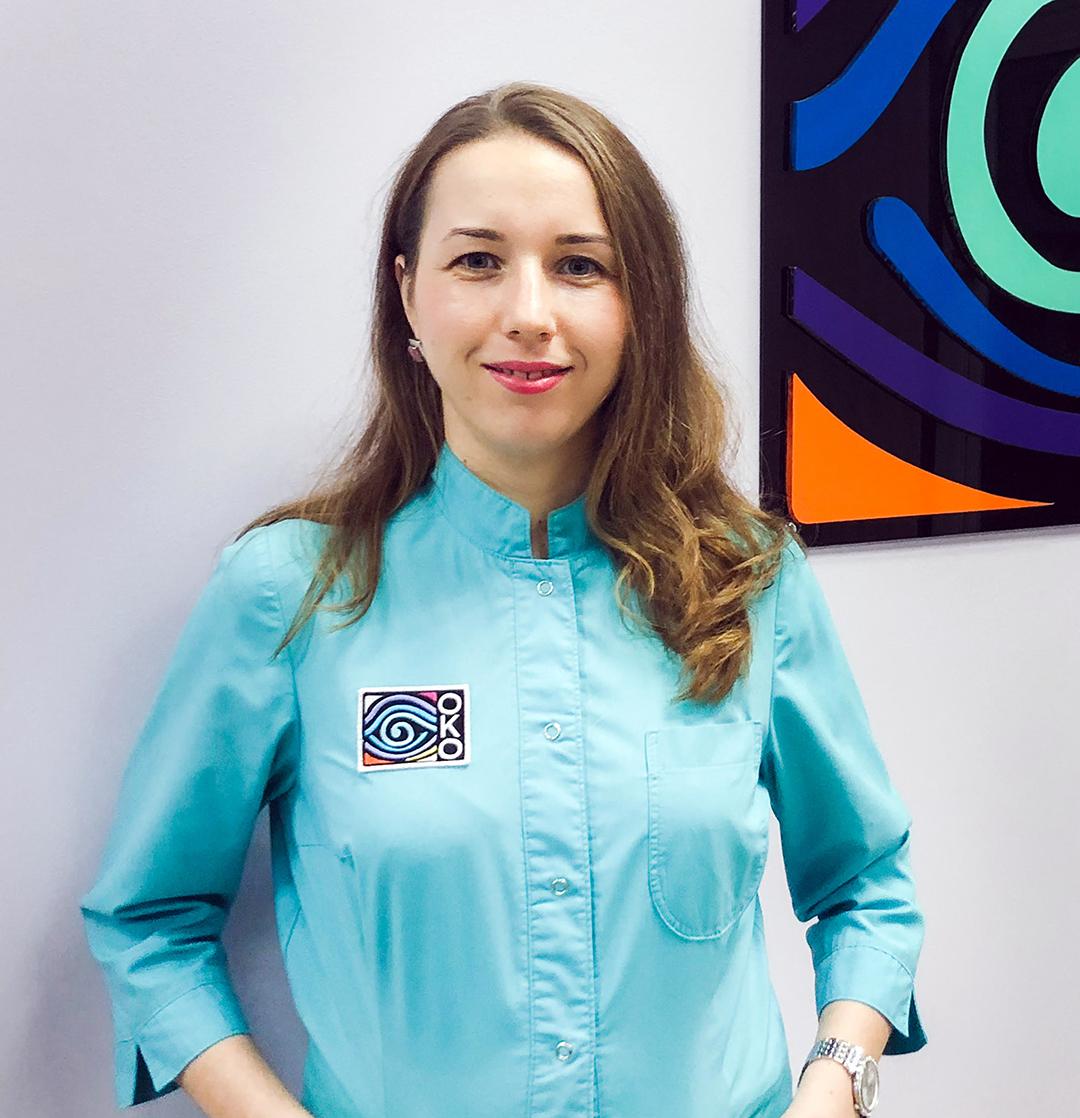 офтальмолог Анна Владимировна Литвищенко