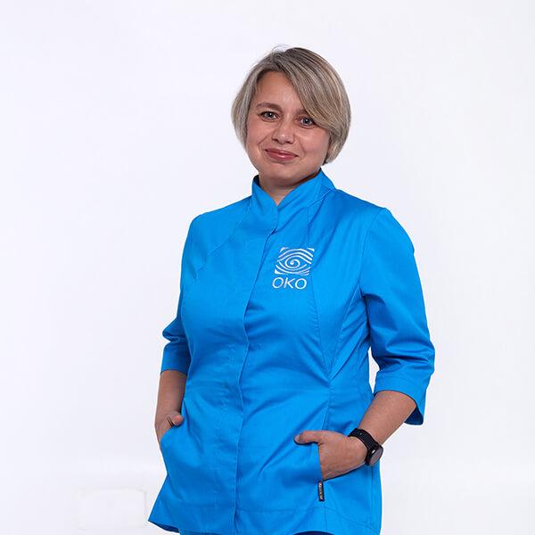 Оптометрист Елисина Оксана Дмитриевна