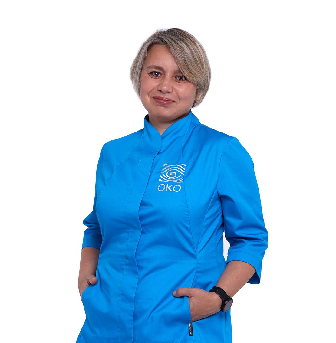 офтальмолог Оксана Дмитриевна Елисина