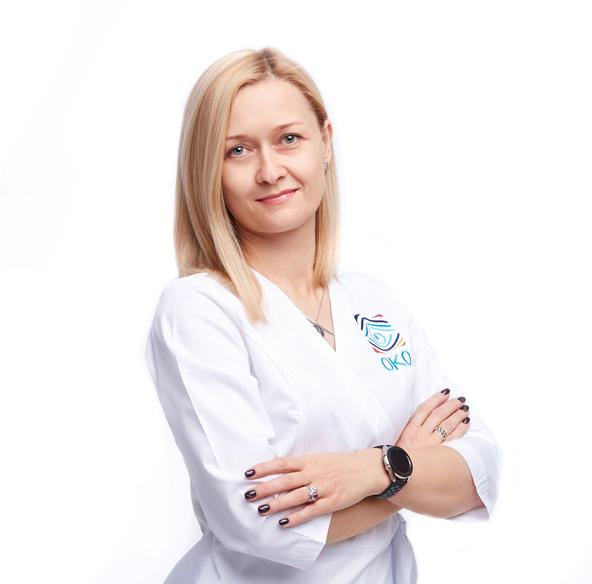 офтальмолог Екатерина Владимировна Погудина