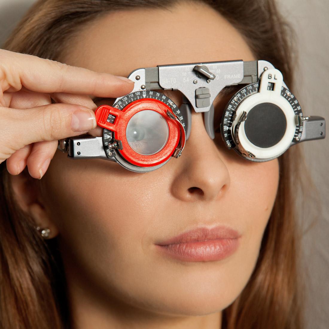 аппаратная диагностика зрения