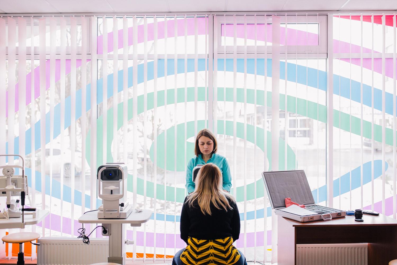 офтальмолог проверка зрения