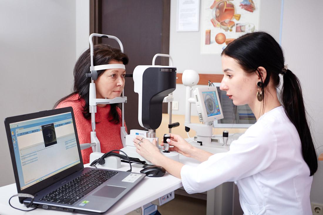 диагностика зрения в харькове