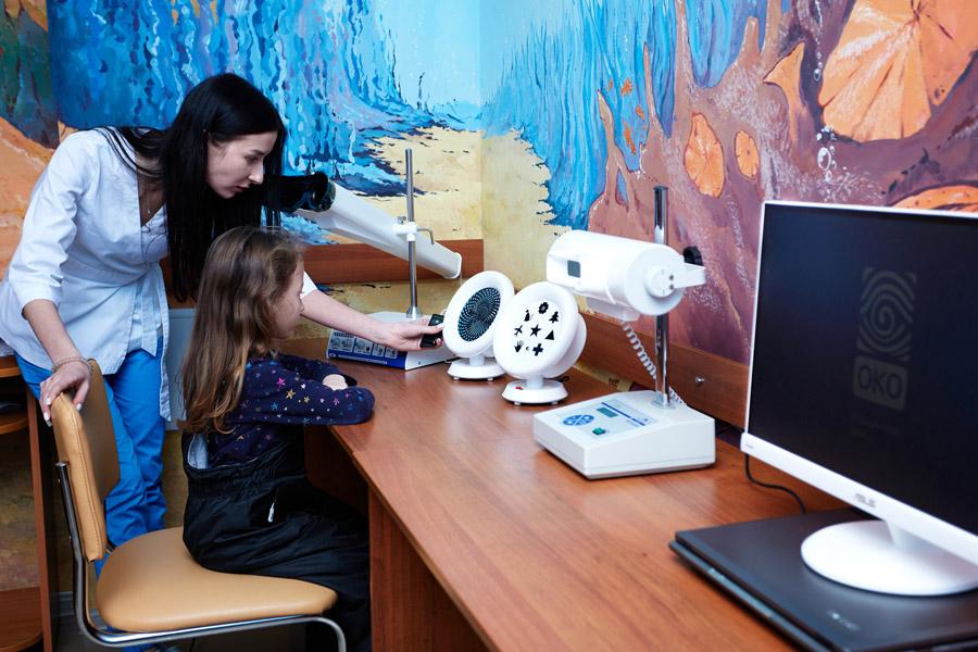 детская клиника офтальмологии