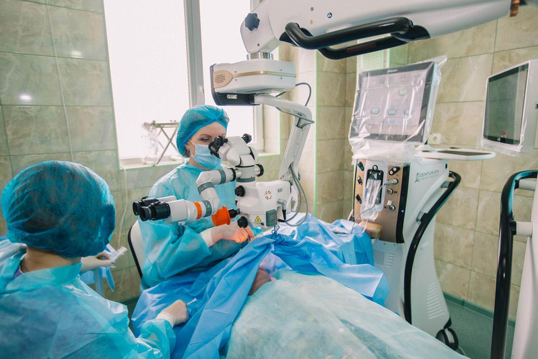 катаракта лечение харькове