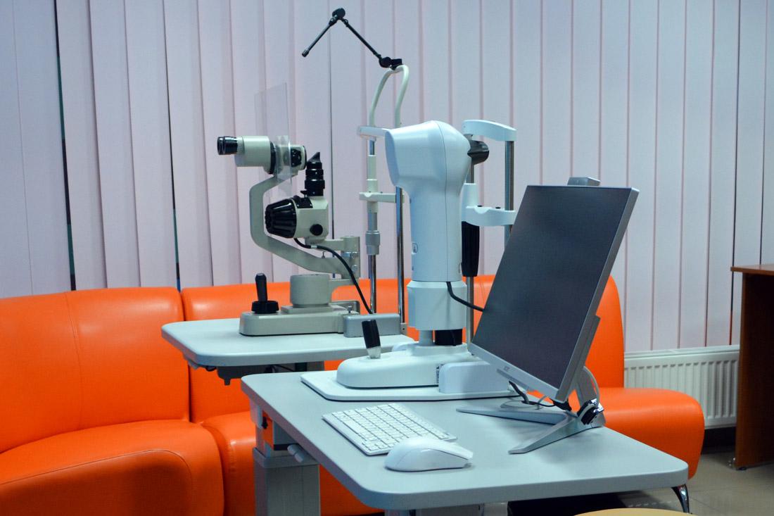 обследование глаз детей