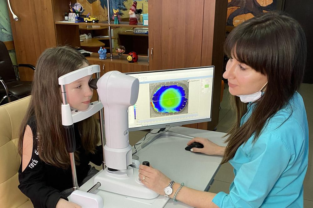 проверка зрения у ребенка