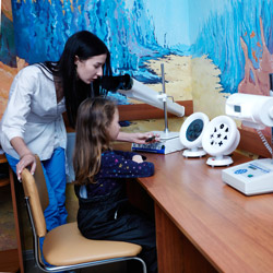 проверить зрение ребенку цена